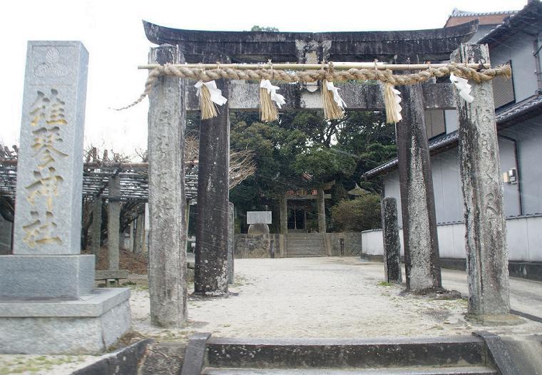 雉琴神社 2015年元旦